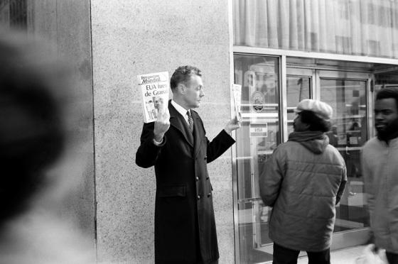 street, New York, 1983,