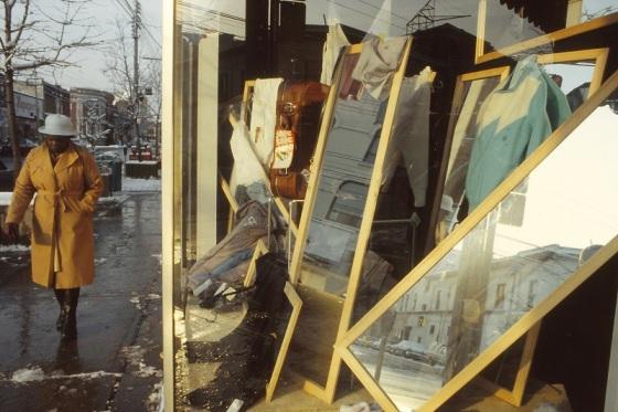 Toronto, store window, 1984