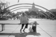 Toronto, 1985, Nathan Phillips Square