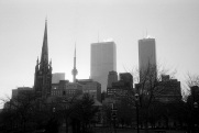 Toronto, skyline, 1986