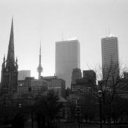 Toronto, skyline, 1986