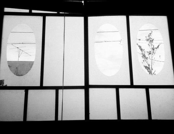 window view, fusuma,