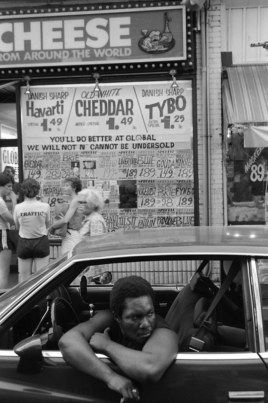 Street cheese shop kensington market toronto 1983