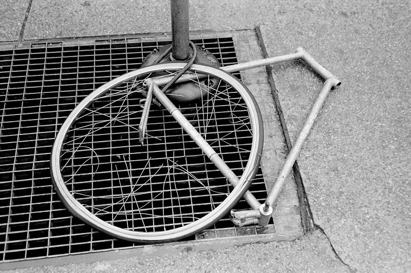 Bicycle Remains, New York, 1983