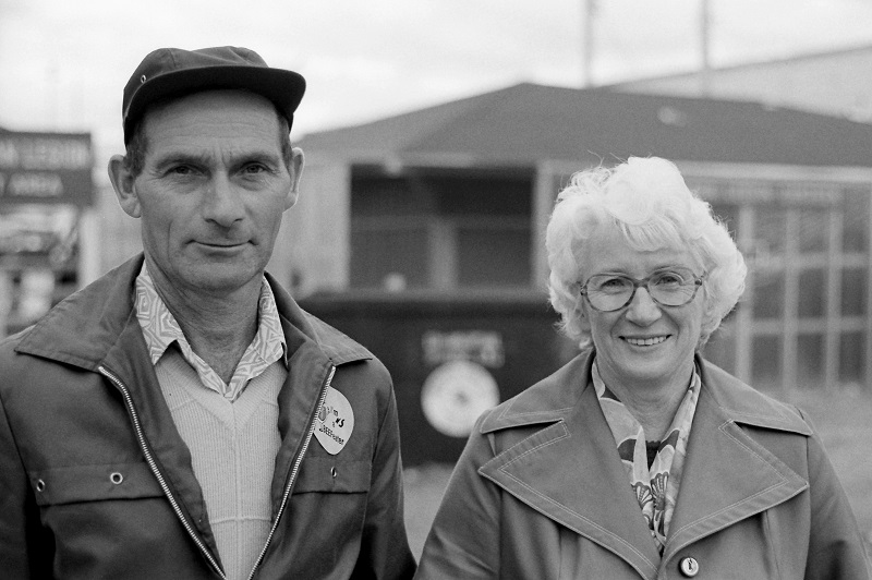 Gordon and Ruby Chambers, 1978