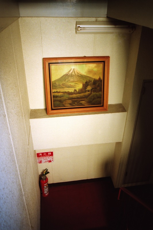 painting, kitsch, Mt. Fuji, Japan,