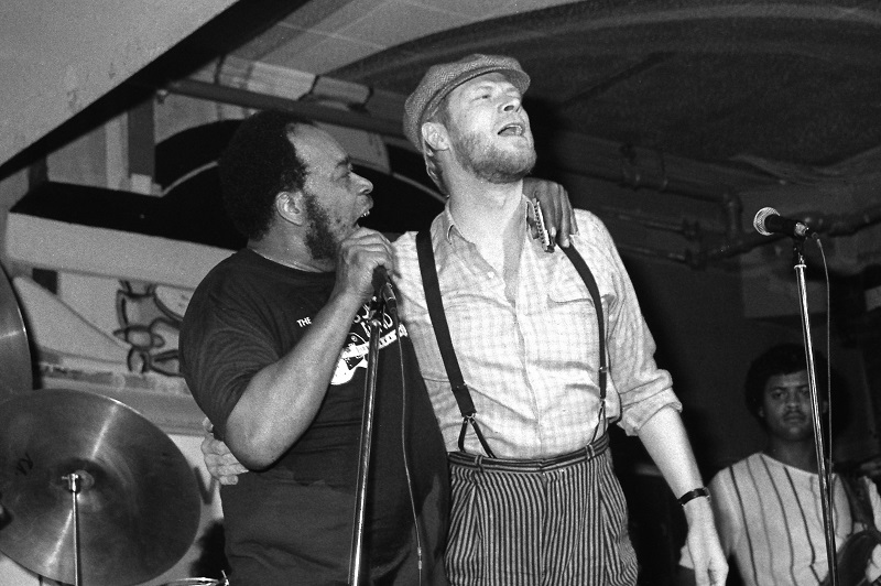 James Cotton and Long John Baldry, Toronto, 1984