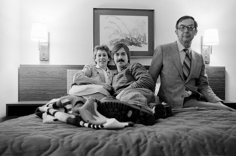 Self Portrait with Parents, Toronto, 1982