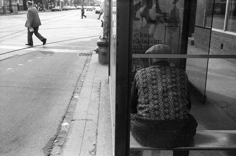 Queen and Bathurst, Toronto, 1984