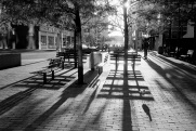 light, shadow, Toronto, 1984,