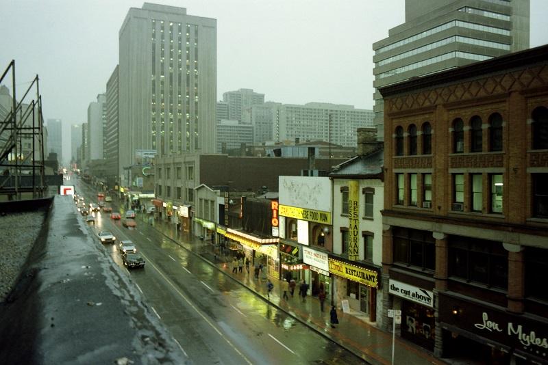 Yonge Street, Toronto,1982