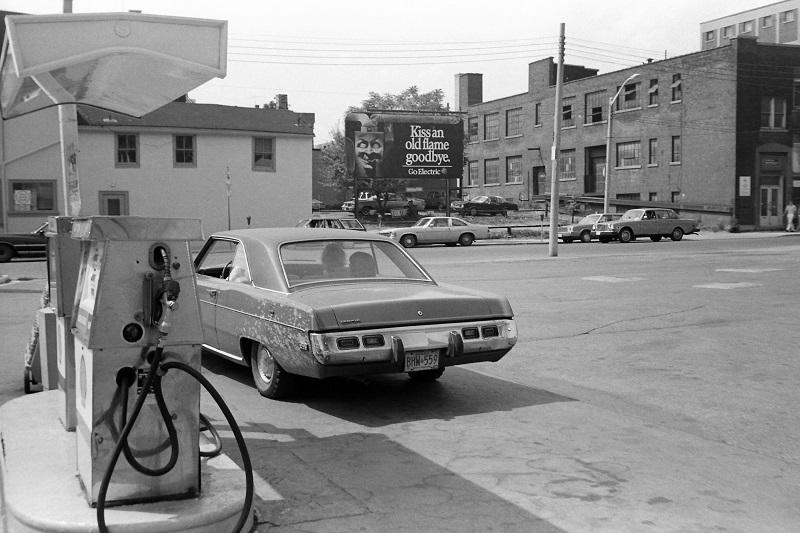 Gas Station, Toronto,1983