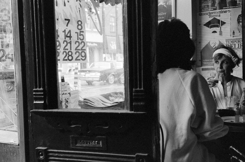 cafe, Toronto, 1985,