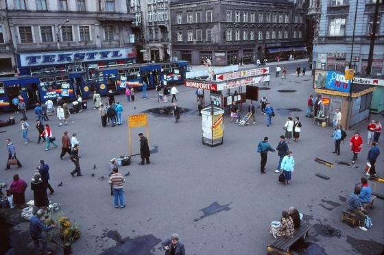 Szewczyk Square, Katowice, Poland, 1993,