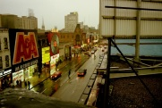 Yonge Street, Toronto, 1982, colour,