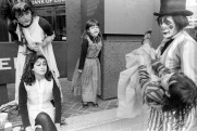 Halloween, Yonge Street, Toronto, 1981
