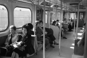 Toronto, TTC subway, subway car,