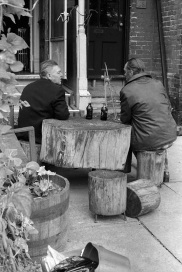 Toronto Flashback, Kensington Market, Toronto, 1981 stubby bottles,