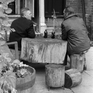 Toronto Flashback, Kensington Market, Toronto, 1981 stubby bottles,