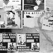 concert posters, 1981, drastic measures,