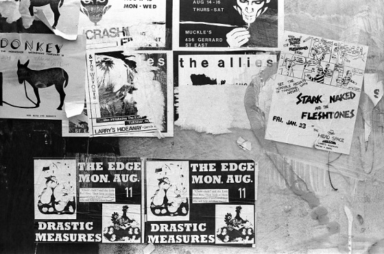 concert posters, 1981, drastic measures,
