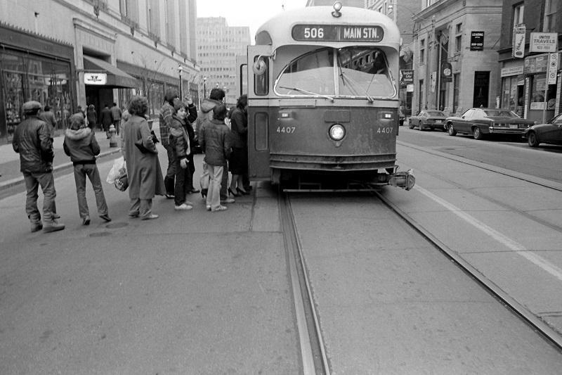 TTC Streetcar, Toronto,1981