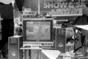television, Sam the Record Man, Yonge Street, Toronto, 1984,