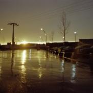 Princes Gates, Toronto, 1982, rain,