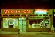Vesuvio's, Toronto, 1982,