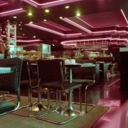 restaurant interior, neon, Bloor Street Diner, 1983,