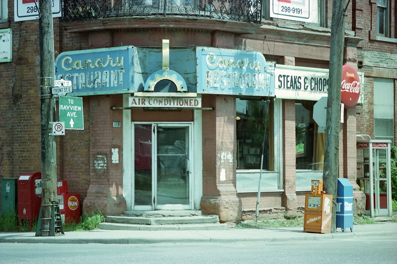 Front and Cherry, Toronto, 1982
