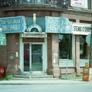 Toronto, Canary Restaurant, 1982,