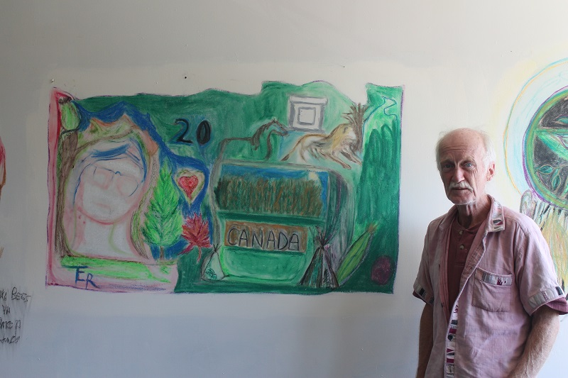 Outsider artist Stephen Butler, Halifax,NS
