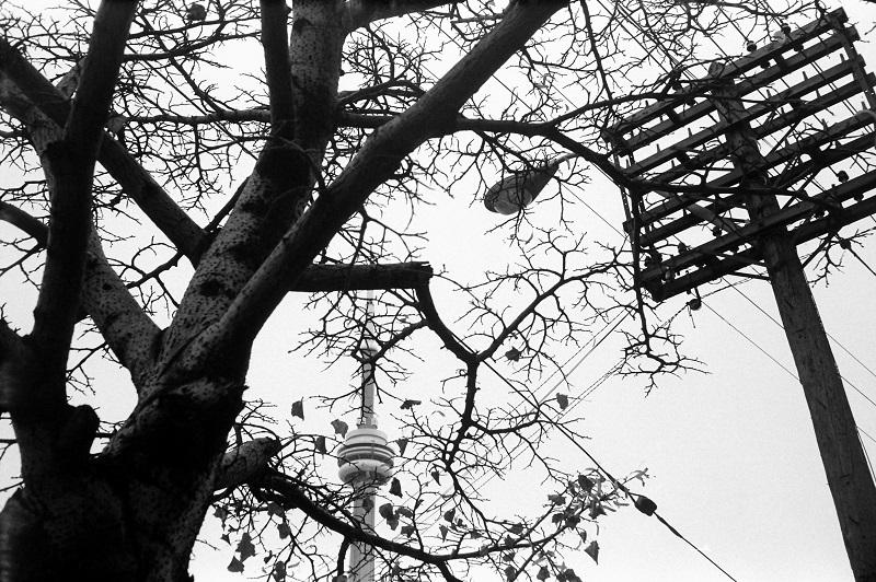 CN Tower, Toronto, 1984,