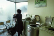 laundromat, Toronto, 1983,