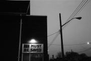 Toronto, twilight, 1986