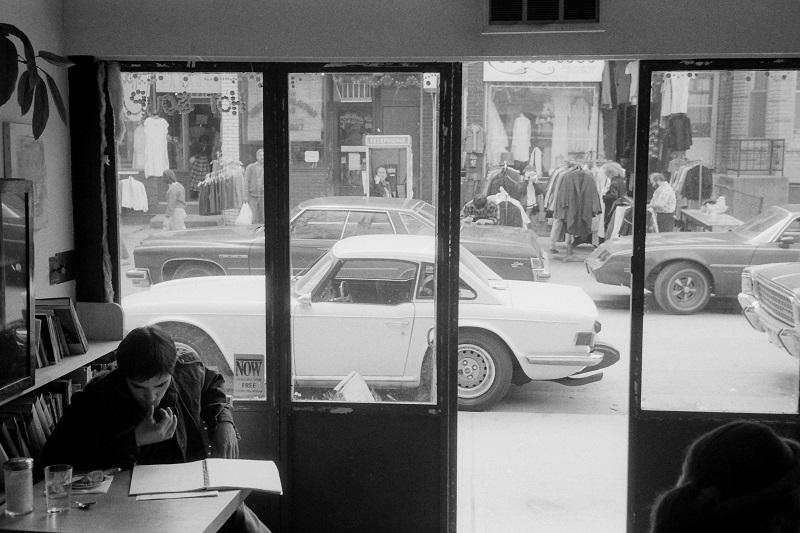 cafe, toronto, 1984,