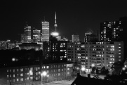 Toronto skyline, 1980