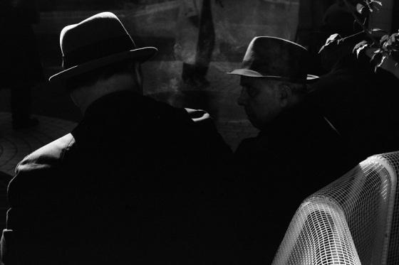men, silhouettes,