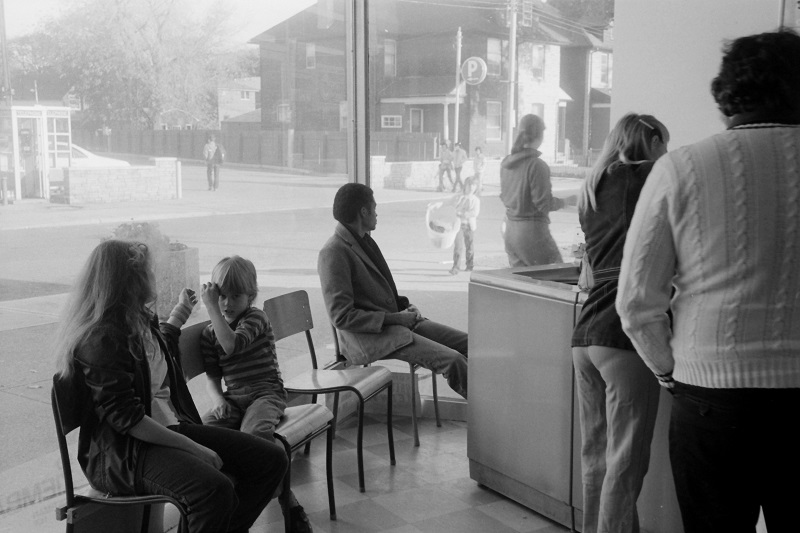 Laundromat, Toronto, 1982