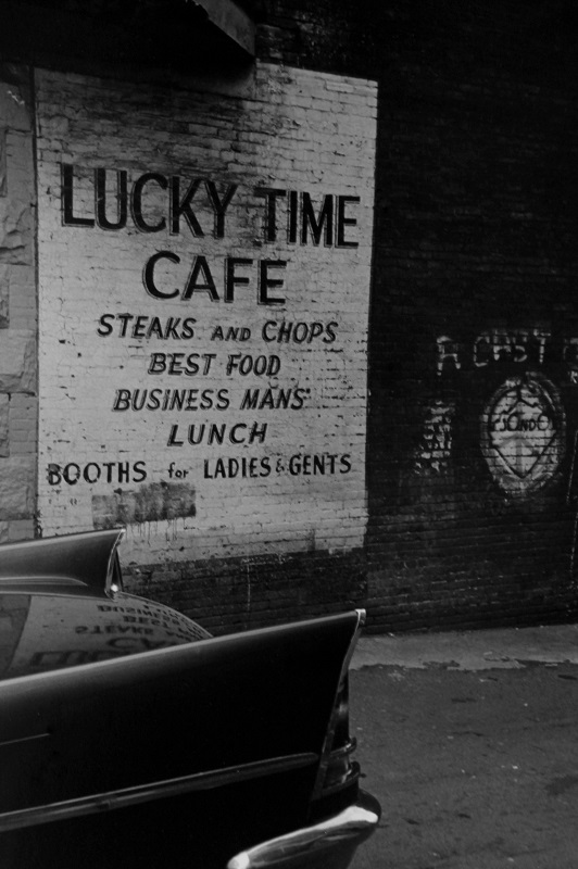 Alleyway, Toronto, 1984