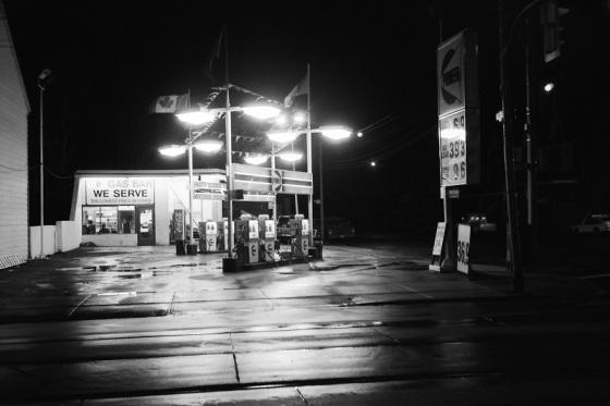 gas station, Toronto