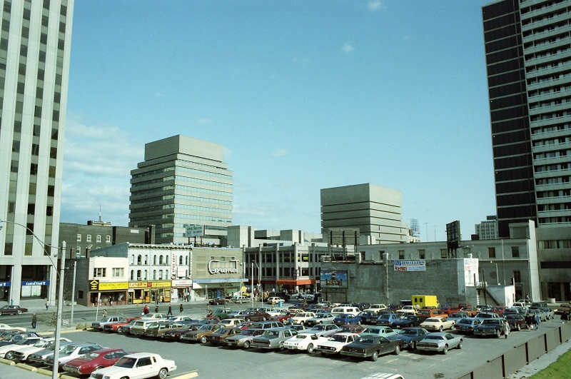 Yonge and Gerrard, Toronto, 1983