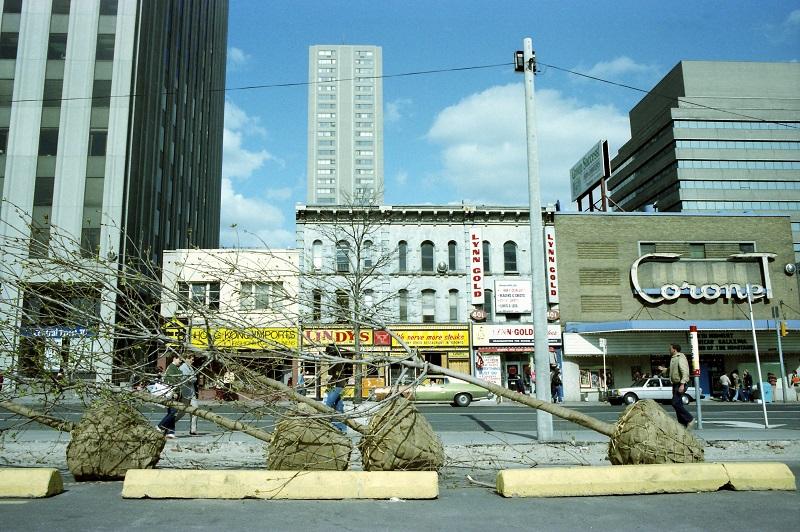 Yonge Street, Toronto,1983