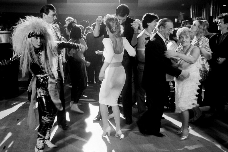 Dance Club, East End, Toronto,1986