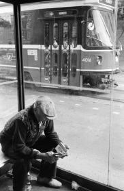 Toronto, streetcar, 1984,