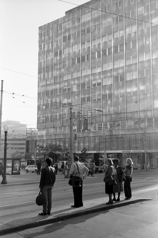 Toronto, College and Bay, 1983,