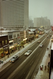 Yonge Street, rooftop view, 1982