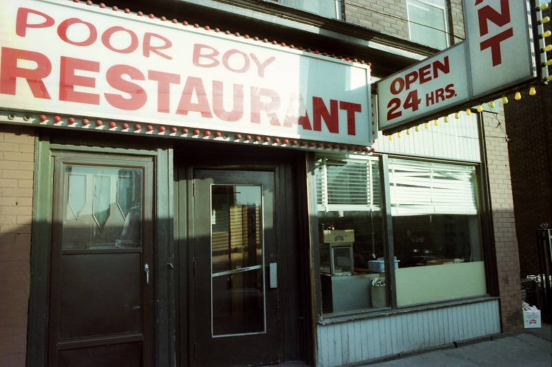 Keele near Dundas West, Toronto, 1983