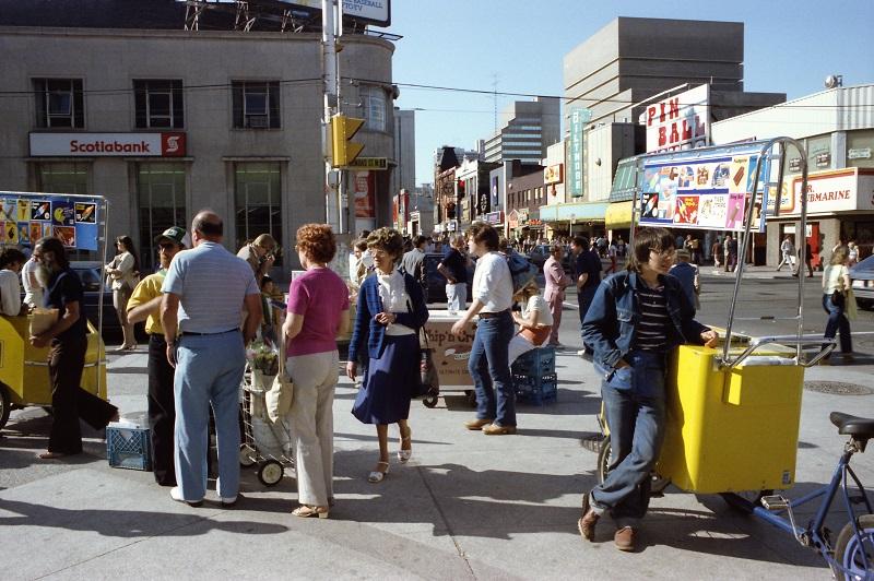 Yonge and Dundas, Toronto,1983